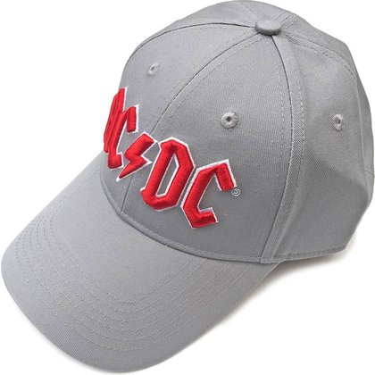 AC/DC - Red Logo / Grey