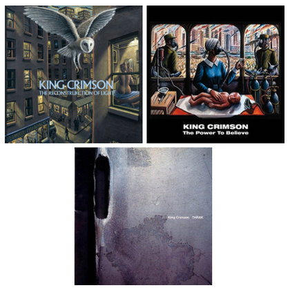 King Crimson - Thrak / The ReconstruKction of Light / The Power To Believe (Expanded)